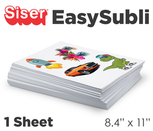 Siser Easy Subli - Single Sheets