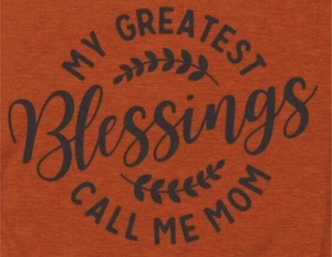 Greatest Blessings - Black Ink - Screen Printed Transfer