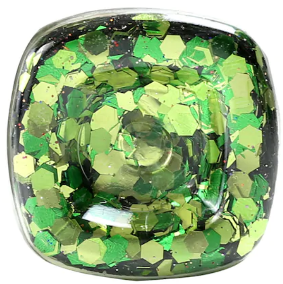 Super Chunky Glitter - Green Mix- .95 oz