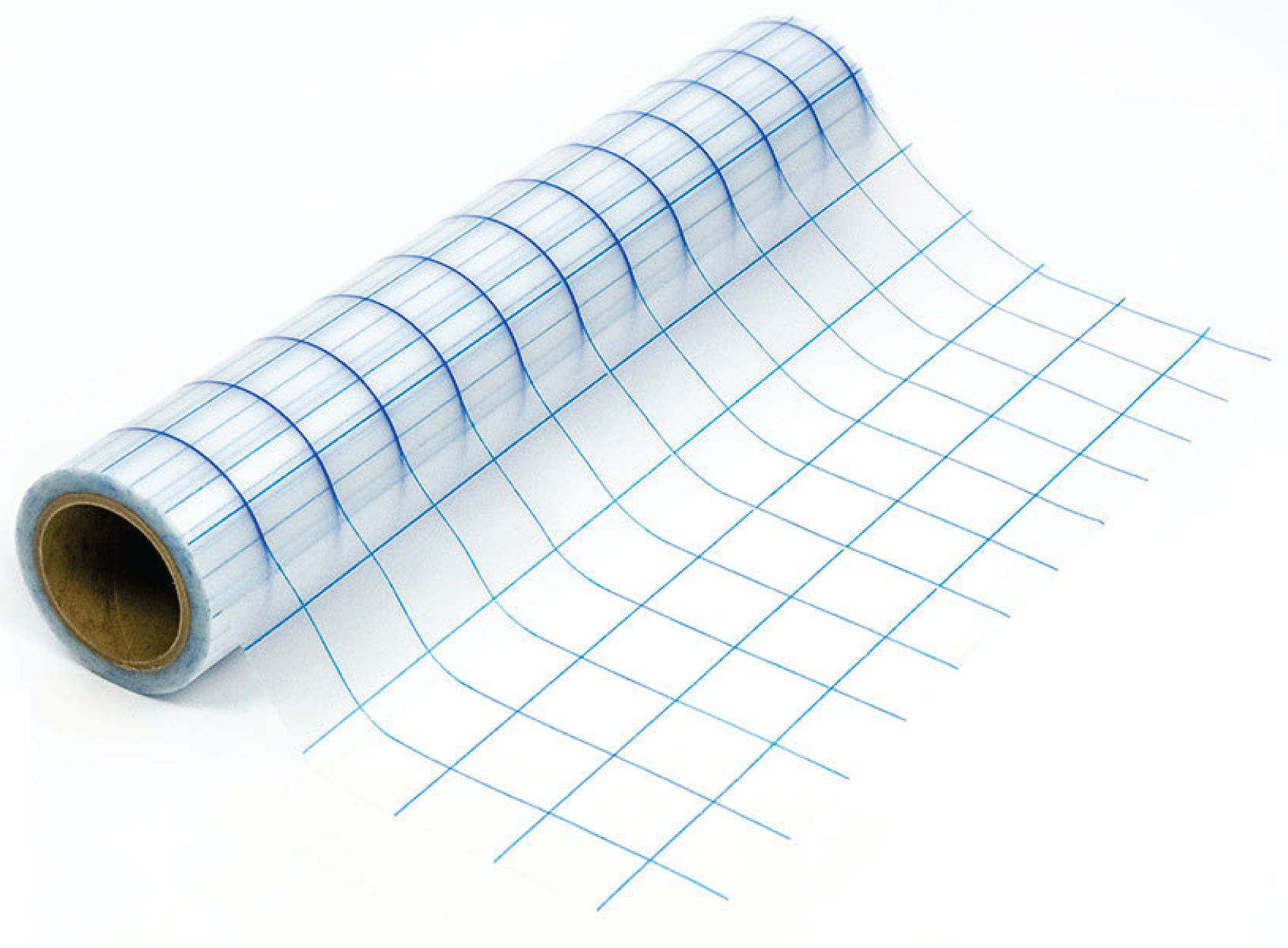 Grid-Lined Clear Transfer Tape (Blue) - 12X30 Ft Supplies