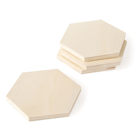 Wood Coasters - Set of 4