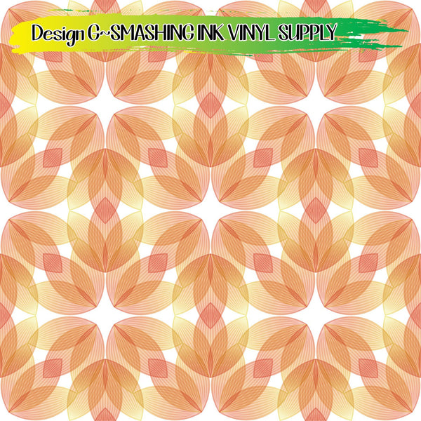 Mandala Petals - Pattern Vinyl (READY IN 3 BUS DAYS)