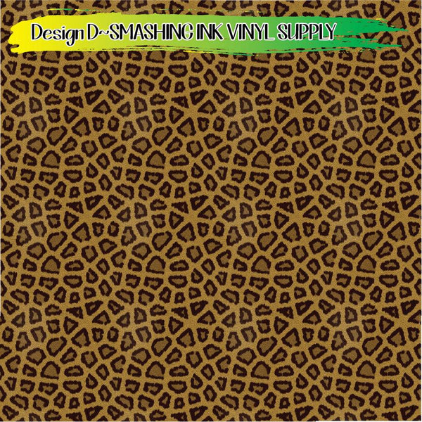 Leopard Print - Pattern Vinyl (SHIPS IN 3 BUS DAYS)