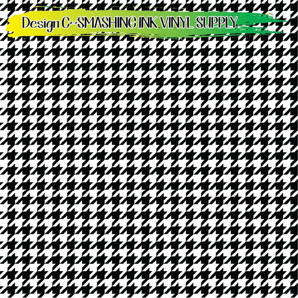 Houndstooth - Pattern Vinyl (READY IN 3 BUS DAYS)