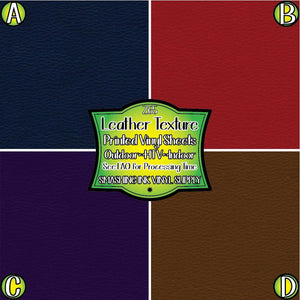 Leather Texture - Pattern Vinyl (SHIPS IN 3 BUS DAYS)