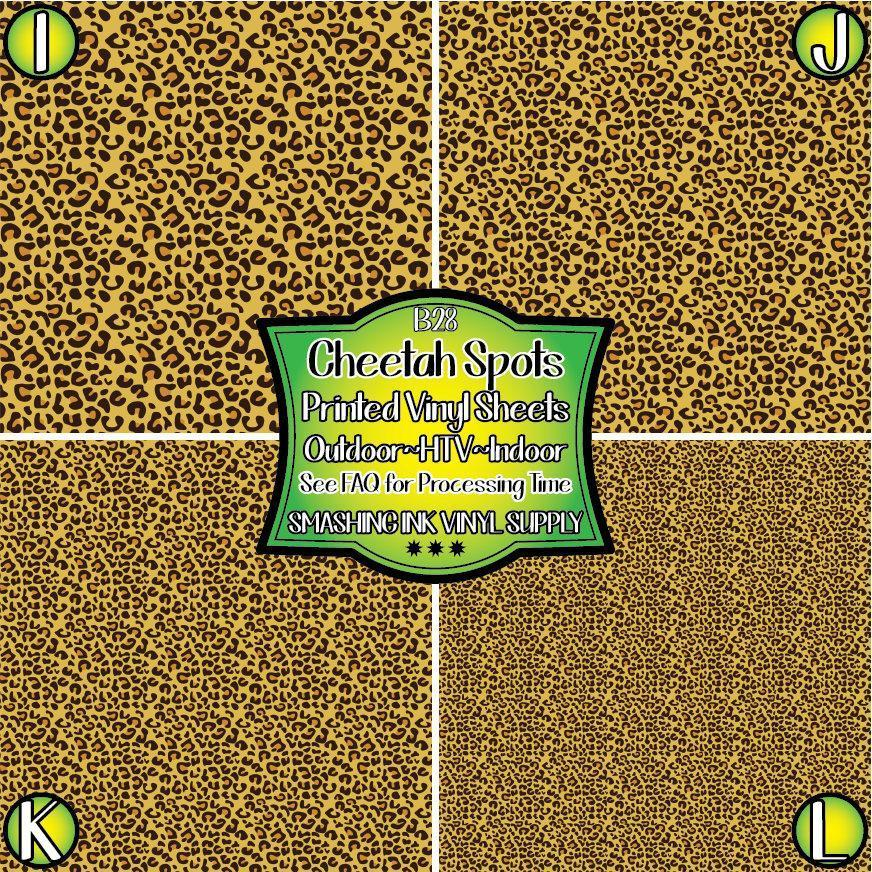 Cheetah Spots - Pattern Vinyl (READY IN 3 BUS DAYS)