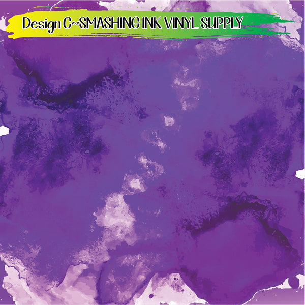 Purple Abstract - Pattern Vinyl (SHIPS IN 3 BUS DAYS)