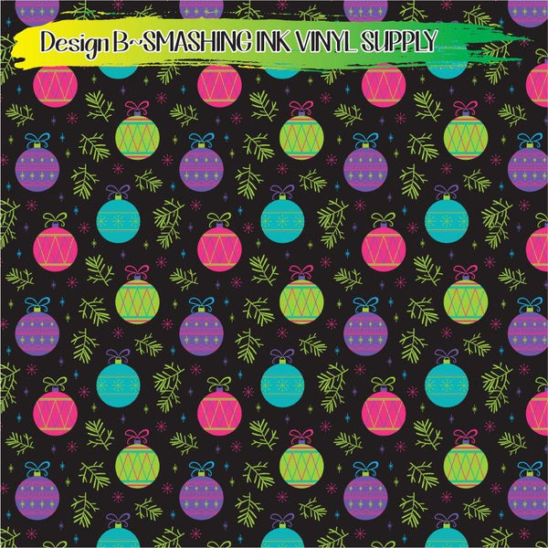 Colorful Ornaments - Pattern Vinyl (SHIPS IN 3 BUS DAYS)