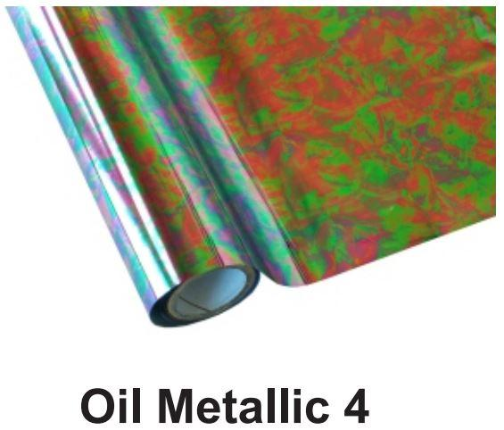 Oil Metallic - Heat Transfer Foil Foil