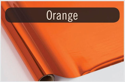 Orange - Heat Transfer Foil Foil