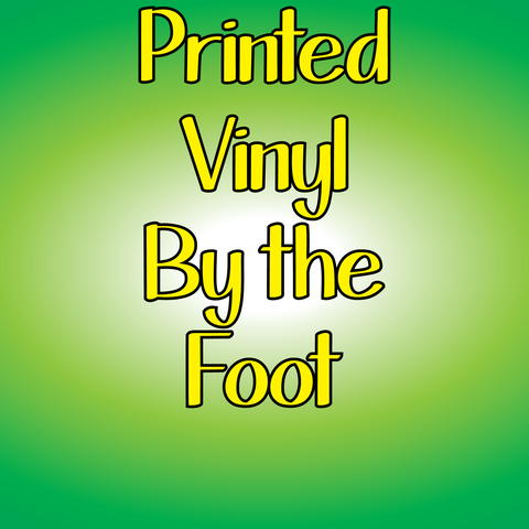 Printed Vinyl Rolls - 12 Inches Wide Bulk