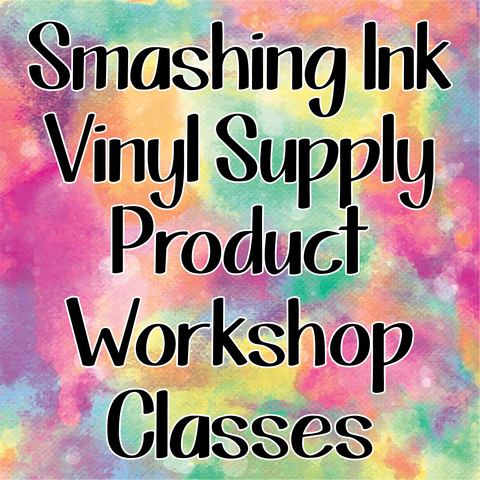 In Person Product Workshop - All about Heat Transfer Vinyl