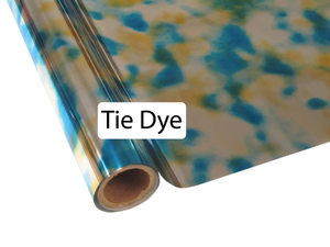 Tie Dye Blue - Heat Transfer Foil
