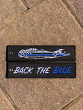 Back The Blue Keychain- 5 Pack