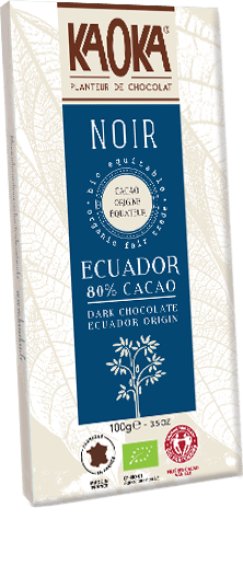 KAOKA - Ecuador 80% 100g - EcoEgo - Green Living Made Easy