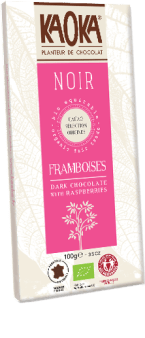 KAOKA - Noir Framboise 100g - EcoEgo - Green Living Made Easy