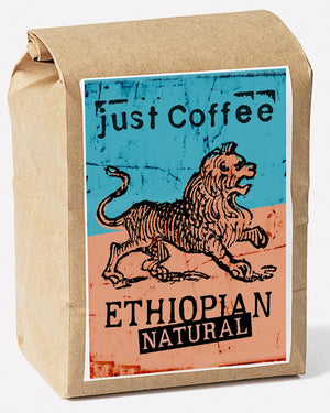 Just Coffee - Ethiopian Natural 250g - EcoEgo - Green Living Made Easy