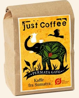 Just Coffe - Sumatra 250g - EcoEgo - Green Living Made Easy