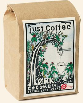 Just Coffee - Mørk Colombia 250g