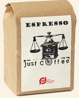 Just Coffee - Espresso Nico 250g - EcoEgo - Green Living Made Easy