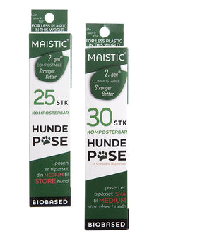 MAISTIC Hundeposer PLASTIKFRI - EcoEgo - Green Living Made Easy