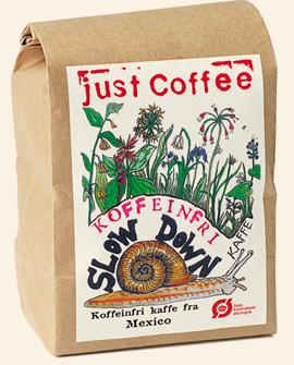 Just Coffee - Slow Down Koffeinfri 250g - EcoEgo - Green Living Made Easy