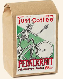 Just Coffee - Pedalkraft 250g - EcoEgo - Green Living Made Easy