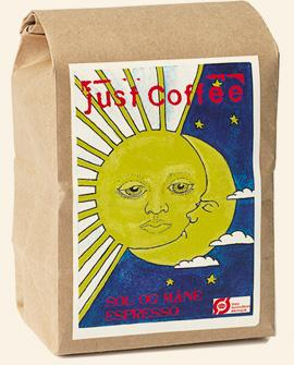 Just Coffee - Sol og Måne Espresso 250g - EcoEgo - Green Living Made Easy