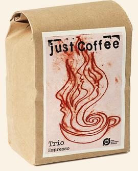 Just Coffee - Espresso Trio 250g - EcoEgo - Green Living Made Easy