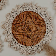 Load image into Gallery viewer, LARGE RATTAN WALL HANGING