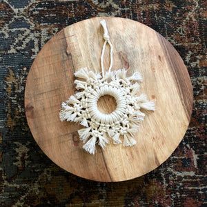 White Ornament