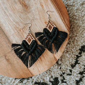 BLACK AZTEC WOOD