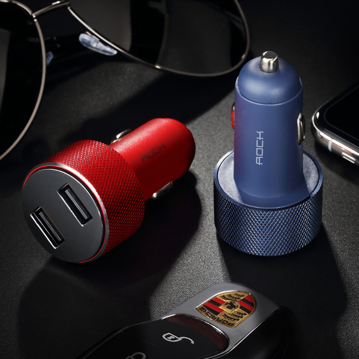 Metal USB Car Charger