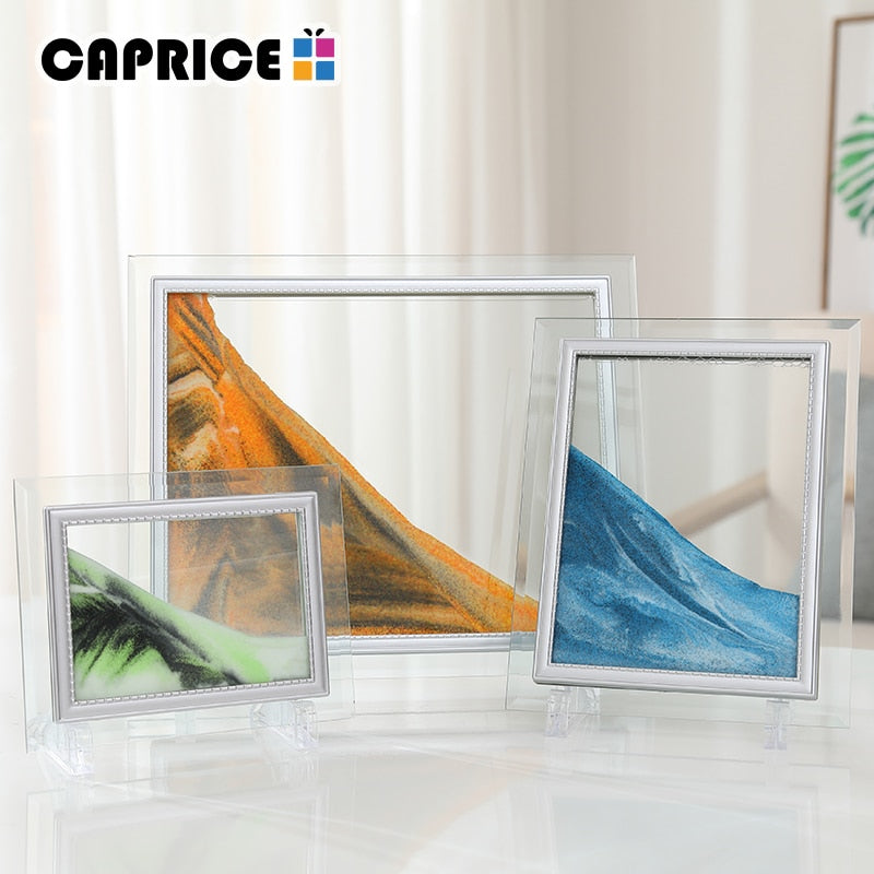 Moving Sand Picture Frame