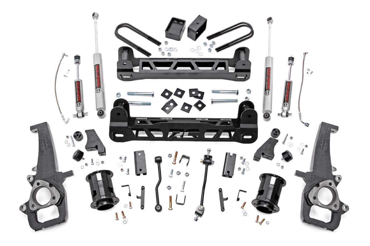 6IN DODGE SUSPENSION LIFT KIT (06-08 RAM 1500 2WD) - Elite Auto Customs