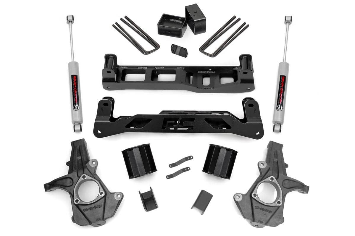 07-13 Chevy Silverado/GMC Sierra 1500  5 inch Rough Country Lift Kit - Elite Auto Customs