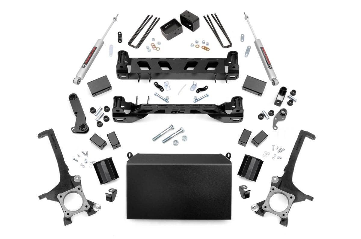 4IN TOYOTA SUSPENSION LIFT KIT (16-19 TUNDRA 4WD/2WD) - Elite Auto Customs
