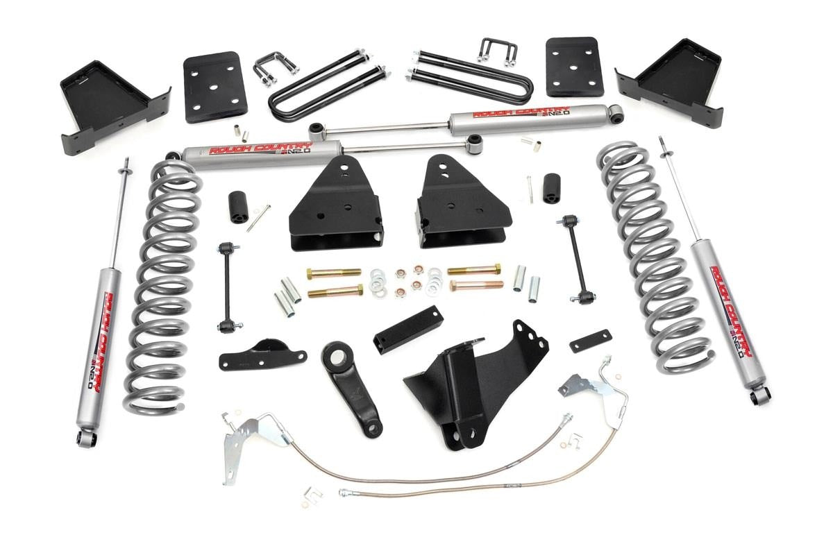 4.5IN FORD SUSPENSION LIFT KIT (08-10 F-250/350 4WD) - Elite Auto Customs