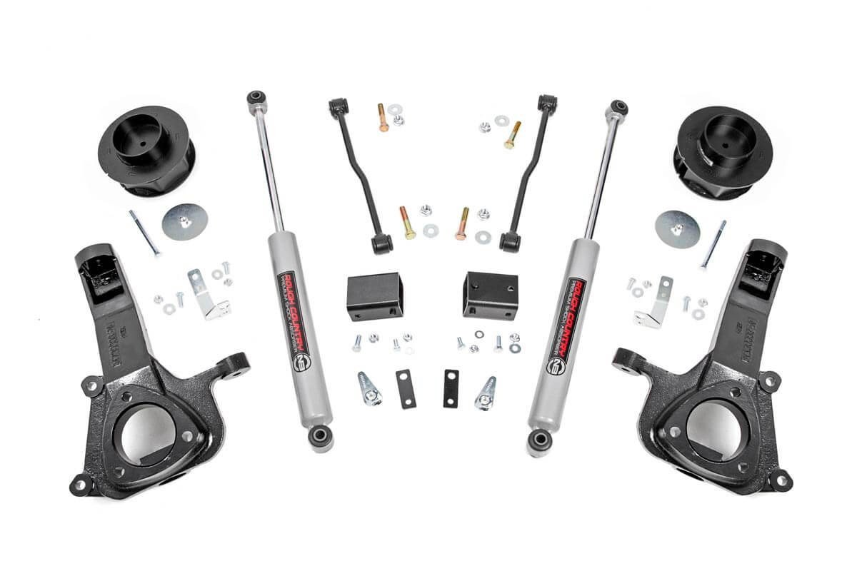 4IN DODGE SUSPENSION LIFT KIT (09-18 RAM 1500 2WD) - Elite Auto Customs