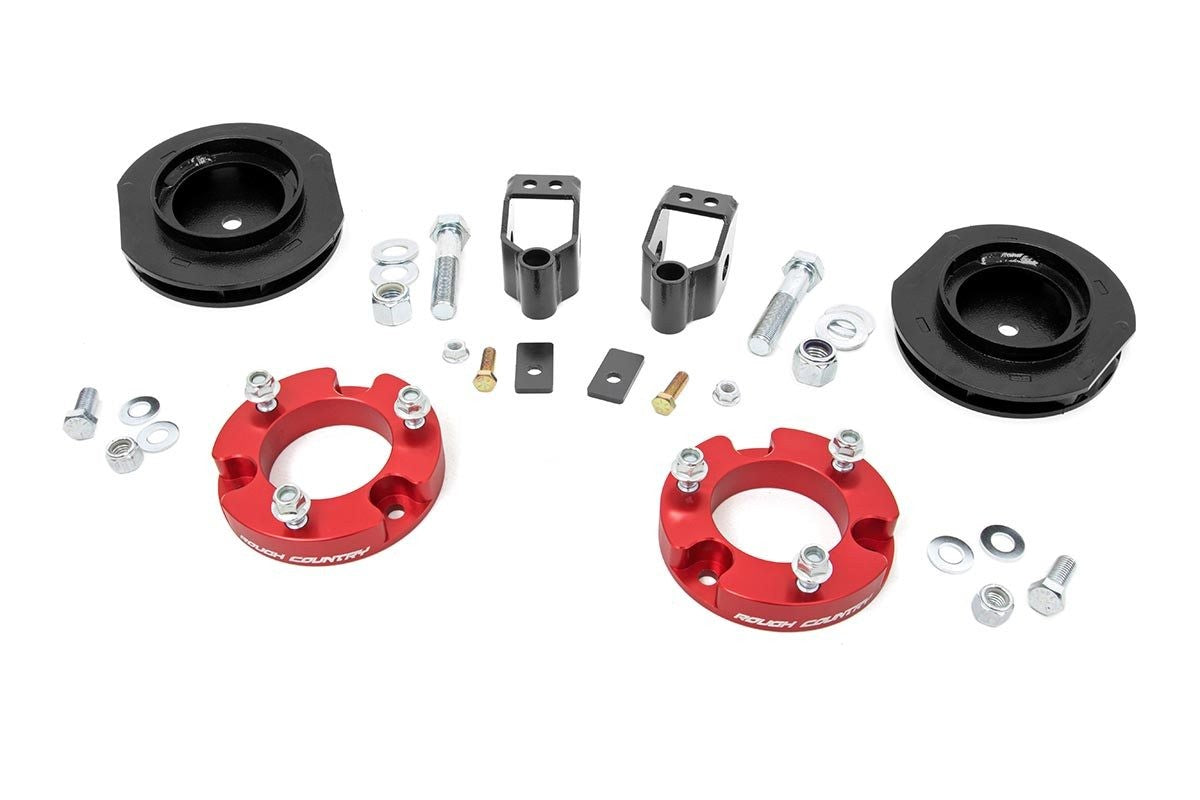2IN TOYOTA SUSPENSION LIFT KIT | RED (10-19 4-RUNNER 4WD X-REAS) - Elite Auto Customs