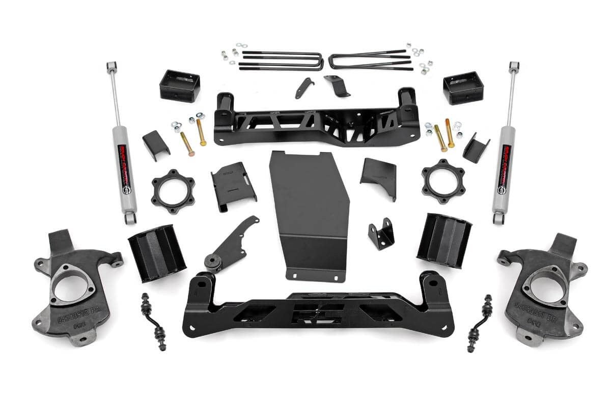 14-17 Chevy Silverado/GMC Sierra 1500 5inch Rough Country Lift Kit - Elite Auto Customs