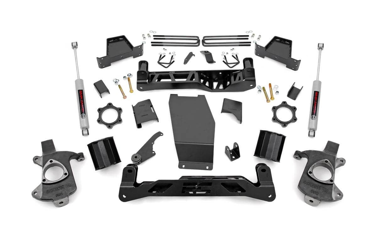 14-17 Chevy Silverado/GMC Sierra 1500 6 inch Rough Country Lift Kit - Elite Auto Customs