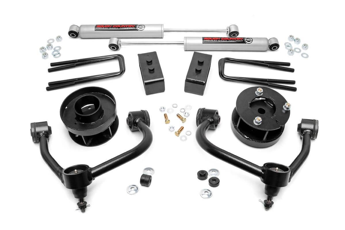 3IN FORD BOLT-ON ARM LIFT KIT (14-19 F-150 4WD) - Elite Auto Customs