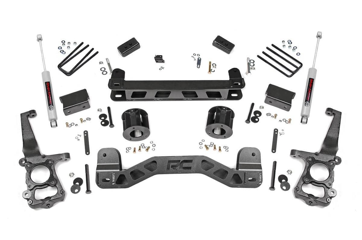 4IN FORD SUSPENSION LIFT KIT (15-19 F-150 2WD) - Elite Auto Customs