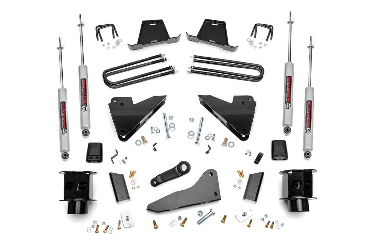 5in Dodge Suspension Lift Kit | Coil Spacers | Radius Drops (13-15 Ram 3500 4WD) SKU: 35620 - Elite Auto Customs