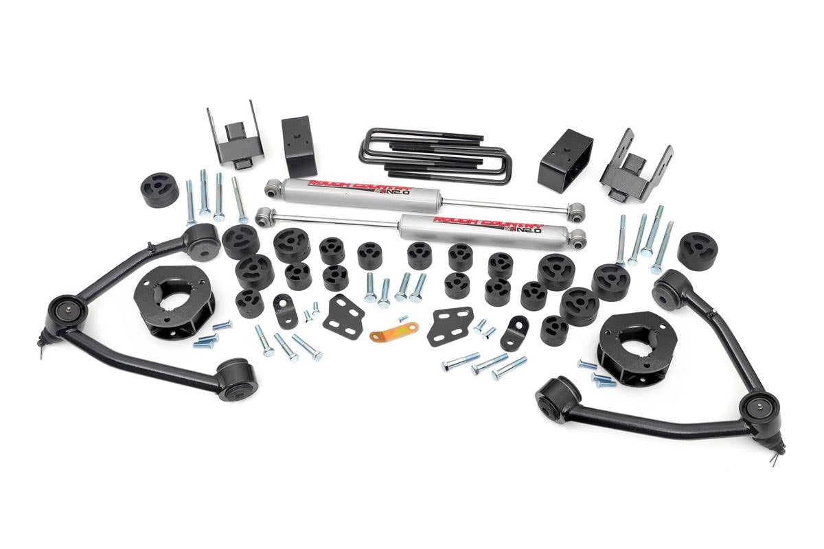 07-13 Chevy Silverado/GMC Sierra 1500 PU 4.75 inch Rough Country Lift Kit - Elite Auto Customs