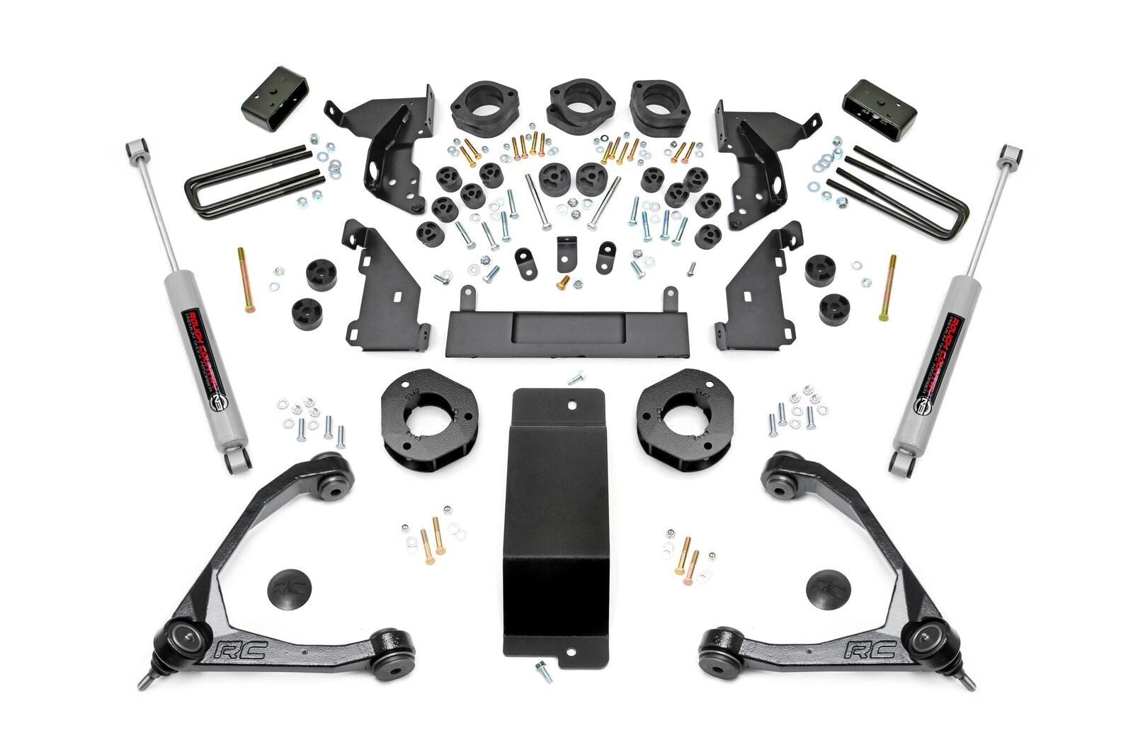 14-16 Chevy Silverado/GMC Sierra 1500 4.75 inch Rough Country Lift Kit - Elite Auto Customs