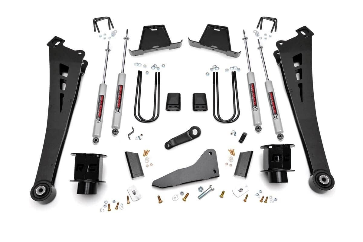 5in Dodge Suspension Lift Kit | Coil Spacers | Radius Arms (13-15 Ram 3500) - Elite Auto Customs