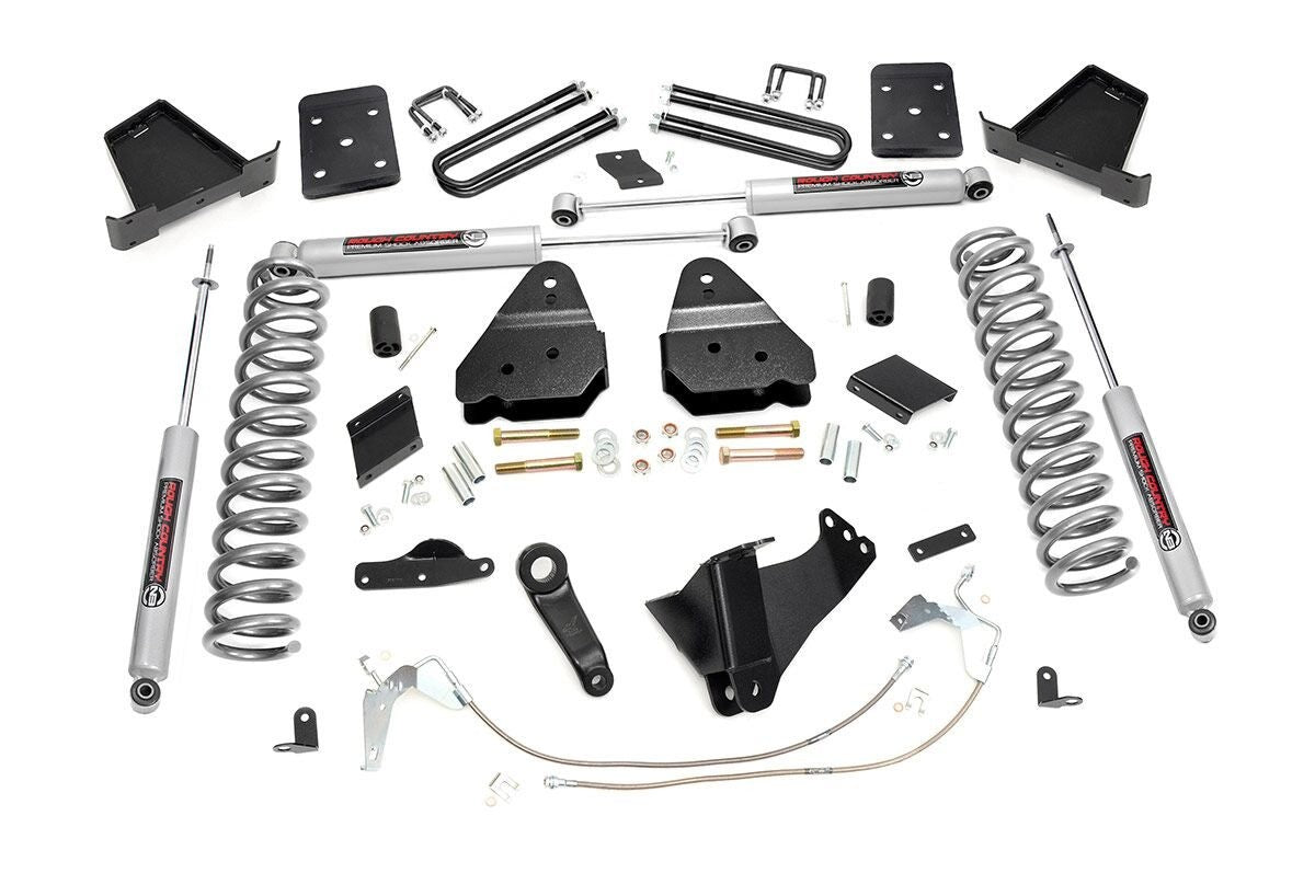 6IN FORD SUSPENSION LIFT KIT (15-16 F-250 | GAS | NO OVERLOADS) - Elite Auto Customs