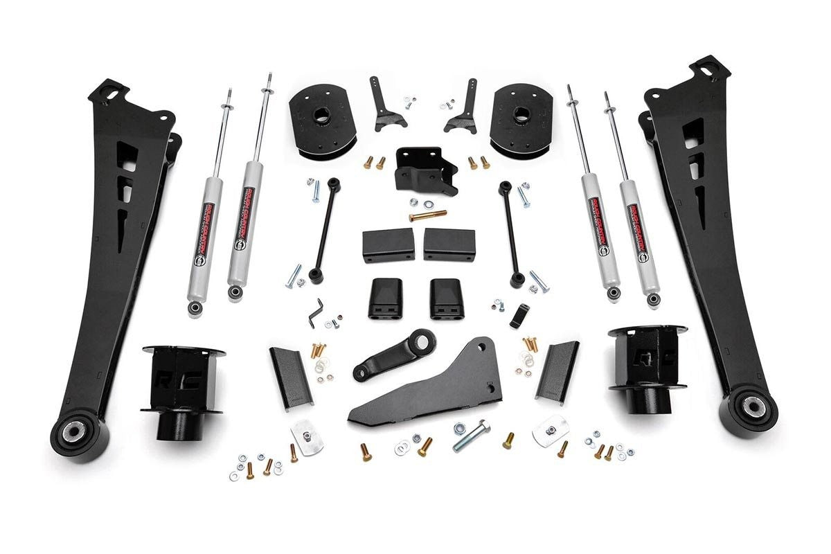 5in Dodge Suspension Lift Kit | Coil Spacers | Radius Arms (14-18 Ram 2500 4WD) - Elite Auto Customs